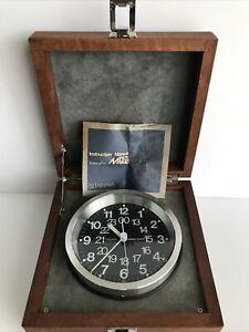 TAMAYA МQ-2 Marine Ship Maritime Chronometer Clock Quartz Watch (D2)