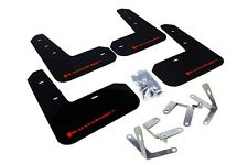 Rally Armor Mud Flaps Guards for 13-16 FRS FR-S BRZ (Black w/Red Logo)