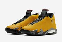 Nike Air Jordan 14 Retro SE GS Size 4Y University Gold Yellow Ferrari BV1218-706