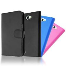 SOFT PU LEATHER HORIZONTAL FLIP WALLET BOOK CASE COVER FOR SAMSUNG GALAXY NOTE 2