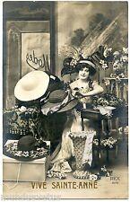 Mode. Fashion . Chapeaux . Hats . Vive SAINTE CATHERINE . REX 4078