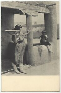 1930 Native American Pueblo Indian - Photo Gravure by Laura Gilpin, Old Postcard
