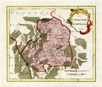 Antique Map-KEMPENLAND-'S HERTOGENBOSCH-EINDHOVEN-NETHERLANDS-Reilly-1791