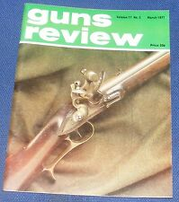 GUNS REVIEW MAGAZINE MARCH 1977 - LATE 18TH CENTURY PNEUMATIC AIR PISTOLS