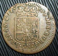 BELGIQUE - Duché de Namur -  Liard 1709   Philippe V d'Espagne