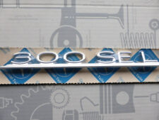 Original Mercedes Schriftzug / Typbezeichnung / Typkennzeichen 300SEL W109 NOS!