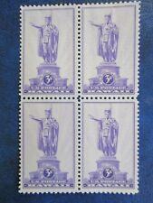 Kamehameha - U. S Stamp (block of 4) #799
