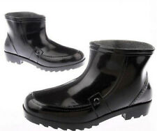 All Seasons Mens Pull On Mid Calf Ankle Gardening Rubber Wellington Rainboots