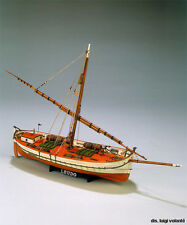 "Popular, Authentic Wooden Model Ship Kit by Mamoli: the ""Il Leudo"""