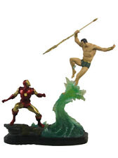 Sideshow Collectibles Namor Vs Iron Man Exclusive Diorama Statue Marvel Sample