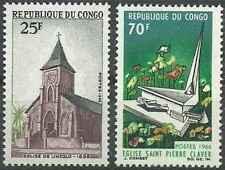 Timbres Religion Eglises Congo 188 - 251 * lot 28115