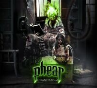PHEAR - INSANITARIUM - CD - DIGI - 2018 RFL RECORDS - IRON MAIDEN - JUDAS PRIEST