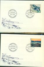 FAROE ISLANDS FIRST DAY COVER COLLECTION 1975–1987, 78 covers total Facit $543