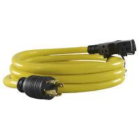 Conntek 20610-010 L14-30 30 Amp 125/250 Volt Generator Convenience Cord, 10ft.