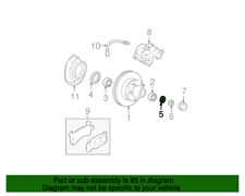 Front Spindle Washer GENUINE GM 457707