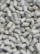 """Ceramic Tumbling Media 2 Lbs. 3/8"""" X 5/8"""" Tumble Tumbler Lapidary Non-Abrasive"""