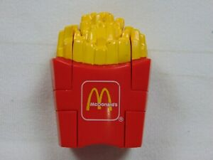 McDonalds Happy Meal Toys Changeable's 1990 Transformers French Fries Dino