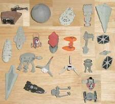 STAR WARS MICRO MACHINES LOT OF 22 VEHICLES AND 16 STANDS FROM SETS I-XII