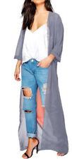 Cappotti e giacche da donna grigi senza marca in poliestere
