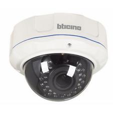 BTICINO 391112 TELECAMERA AHD DOME NIGHT&DAY DA ESTERNO 720p, 2,8-12mm, IP 55