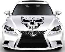 TRIBAL SKULL Custom Wrap Hood Car Vinyl Decal Art Sticker Graphics BBK26