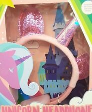 Pink Sequin Unicorn Headphones & Unicorn Mask BNIB -  The Perfect Gift