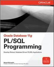Oracle Database 11g PL/SQL Programming by McLaughlin, Michael