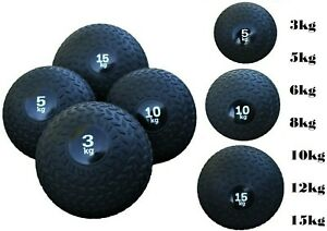 Slam Ball No Bounce Fitness Boxing Boot Camp Extreme Strength Gym