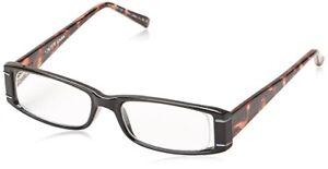foster grant reading glasses Gracie Black And Tortoiseshell +1.25 Free Case,