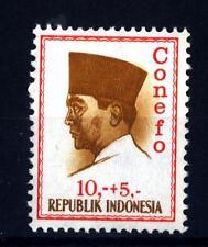 INDONESIA - INDONESIA - 1965 - Serie ordinaria. Presidente Sukarno - CONEFO