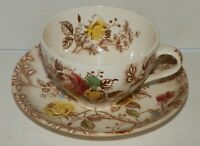 Vintage Nasco Rose Arbor Pattern China Cup And Saucer