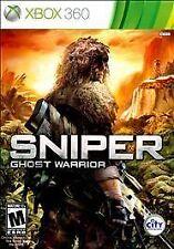 Sniper Ghost Warrior XBOX 360! MILITARY SHOOTER WAR, BATTLEFIELD MISSION, BULLET
