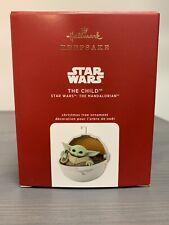 2020 Hallmark The Child Star Wars Mandalorian Hallmark Keepsake Ornament Cute!