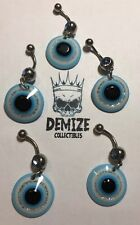 5x Belly Bars All Seeing Eye Blue Resale Job Lot Bundle #32