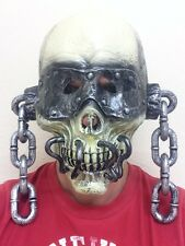 Peace Sells Vic Skull Mask Rattlehead Megadeth Fancy Dress Dystopia Metal Masks