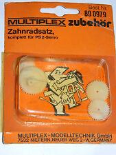 vintage MULTIPLEX 890979 PS-2 PS2 servo ZAHNRADSATZ pignon RITZEL gear