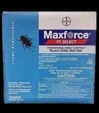 MAXFORCE FC Select ROACH BAIT GEL w/Fipronil 4x30gm
