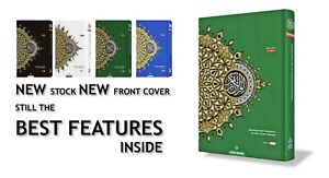 A4 GREEN MAQDIS Quran Al Kareem Word for Word Translation Colour Coded Tajweed