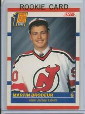 90-91 Score Martin Brodeur Rookie Card RC #439 (Canadian) Mint