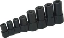Lisle Tools 70500 Tap Socket Set for all MCTI Taps thru 1/2 inch 8 Piece