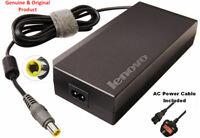 GENUINE Lenovo ThinkPad 170W AC Adapter w/ Powercord W520 W530 45N0117 45N0118
