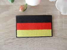 Aufbügler Aufnäher Deutschland Germany 7,5 x 4,5 cm Fussball EM  WM Fahne Banner