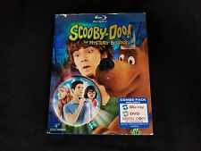 Scooby-Doo The Mystery Begins Blu ray+DVD W/Slipcover