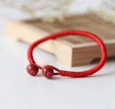 Men Women Good Luck Hand Braided Lucky Red String Rope Cord Bracelet Gift