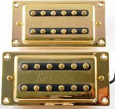 NEW complete set GRETSCH Dual-Coil Humbucking - gold
