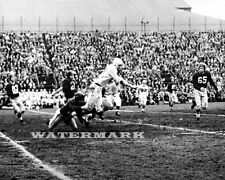 Cfl 1954 Grey Cup Montreal vs Edmonton Game Action Black & White 8 X 10 Photo