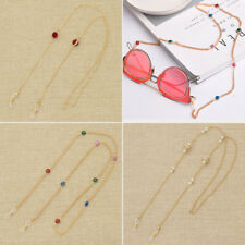 Eyewear Spectacles Chain Holder Eye Glasses Accessory Gold Strap Cord Craft 1 Pc