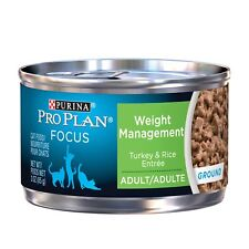 Purina Pro Plan Wet Cat Food, Focus, Adult Weight Management Turkey And Rice