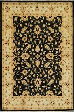 5x7 area rugs With Black Color Vegetable dye Hand-Knotted Area Rug and carpet