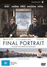 Final Portrait (DVD, 2018)